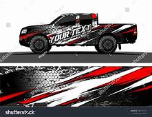 Truck Graphic Vector Abstract Grunge Background Design