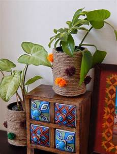 Jute Home Decor Ideas by The Corner Recycled Jute Vase Indian Home