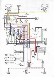 1951 vw bug wiring harness painless split innerbelysning sida 1 typ1 kdf split oval boxerville