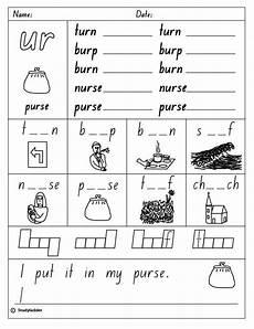 ur spelling worksheets 22595 vowel digraph quot ur quot studyladder interactive learning