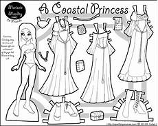 paper doll coloring pages 17642 marisole monday coastal princess paper dolls paper dolls clothing frozen paper dolls