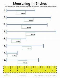 measurement 2nd grade worksheets free 1987 measuring in inches measurement worksheets teaching measurement 2nd grade worksheets