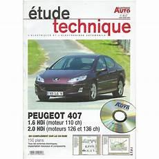 revue technique auto volt 407 de peugeot