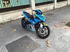 Modif Helm Yamaha by Modifikasi Jupiter Mx King Livery Helm Agv Valentino