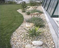 Gartenbeet Mit Steinen Anlegen