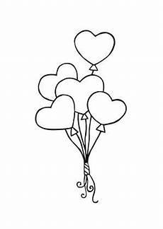 Ausmalbilder Sterne Und Herzen Ausmalbild Luftballon Herzen Ausmalbilder Hochzeit