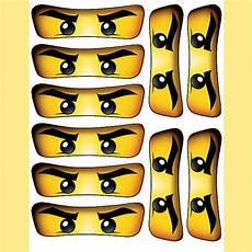 Ninjago Malvorlagen Augen Free Instant Ninjago 5 Inch For Balloon By Essu50