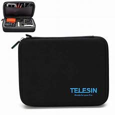 Telesin Middle Size Protective Storage by Middle Size Protective Storage Bag For Gopro For