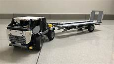 lego technic truck and trailer transporter