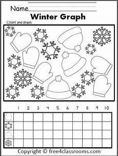 winter graphing worksheets kindergarten 20011 free winter graphing worksheet for preschool kindergarten and 1st grade winter math