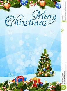 merry christmas visiting card merry christmas greeting card stock vector illustration of decoration card 27251302