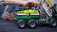 lego technic log and load with the powerful lego technic forest machine