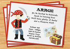 pirate birthday invitation treasure map by eventfulcards
