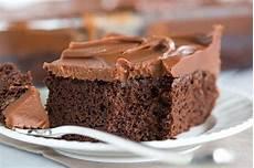 chocolate sheet cake with milk chocolate ganache frosting brown eyed baker