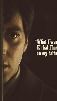 godfather quotes iphone wallpaper quotes the godfather al pacino michael corleone wallpaper