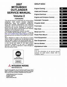 online car repair manuals free 2005 mitsubishi outlander user handbook service manual mitsubishi outlander 2 fill online printable fillable blank pdffiller