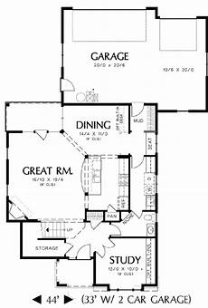 rear entry house plans plan 69204am rear entry garage and two exterior choices