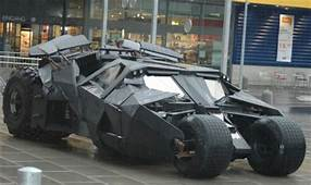 Batman Tech Comes To Life Military Tank Based On Tumbler