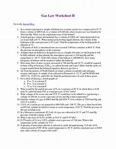 16 best images of mixed gas laws worksheet answers mixed