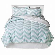 com room essentials chevron comforter full queen sky blue and white zig zag home