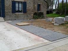 dalle terrasse beton terrasse pave ou dalle nos conseils