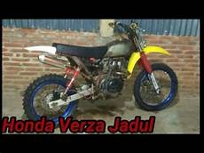 Modif Trail Jadul by Modifikasi Honda Verza Model Trail Jadul