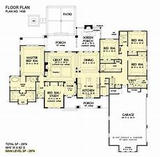 5 bedroom house plans single story 5 bedroom home plan craftsman ranch plan don gardner
