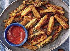 oven fried zucchini sticks image