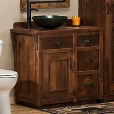 Reclaimed Barn Wood Vanity Rustic Barnwood Bathroom Vanity
