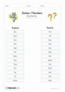 englisch lernen zahlen numbers kindegarten pdf englisch