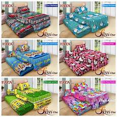 fata signatur sprei fata signature sorong duo 2 in 1 motif kartun uk 120x200 shopee indonesia