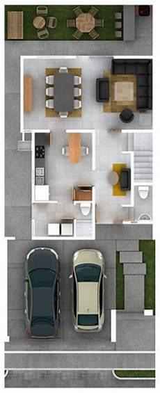 garage 2 niveles asador planos de casas modernas