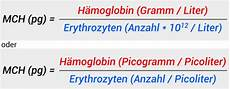 h 228 moglobinmenge blutwert mch bzw hbe