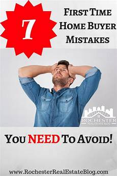 Time Home Buyer Mistakes To Avoid
