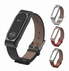 Mijobs Leather Bracelet Replacement Xiaomi Miband by Mijobs Leather Bracelet Replacement For Xiaomi Miband 2