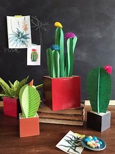 12 great cactus crafts pillar box blue