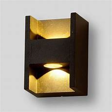 new design waterproof 2 3w aluminum outdoor led wall sconce light bathroom lighting led wall