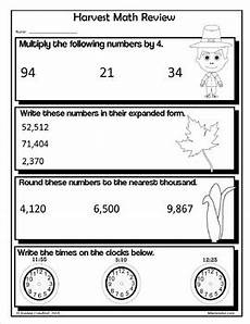 thanksgiving division worksheets 4th grade 6686 thanksgiving no prep printables fourth grade common math and literacy