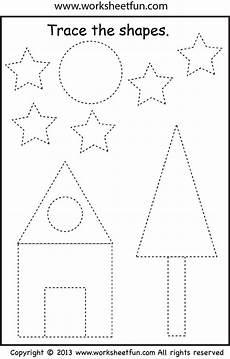 shapes pattern worksheets for grade 1 1234 preschool shape tracing shapes worksheets shape tracing worksheets preschool worksheets