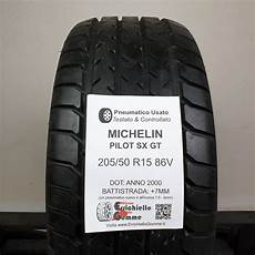 205 50 r15 86v michelin pilot sx gt 90 7mm gomme
