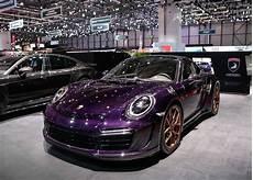 porsche 911 stinger gtr purple carbon edition topcar