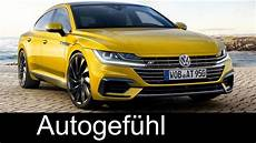 Volkswagen Arteon All New Vw Cc Successor Preview Exterior