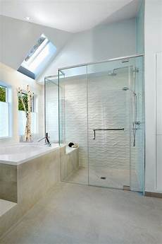 bathroom shower wall tile ideas tiled showers ideas white wave tile contemporary bathroom design steam shower in 2019