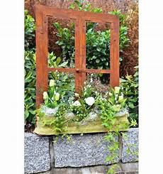 Fenster Als Deko - deko fenster aus edelrost 80 x 60 cm metallmichl