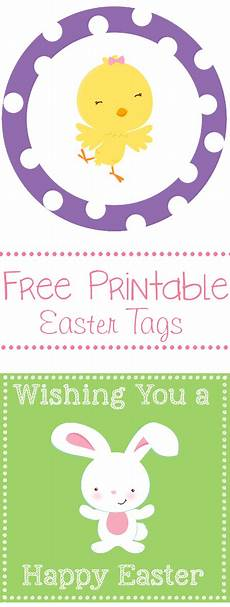 free printable easter and tags 4 designs to use