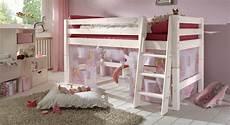 Kinder Hochbett Prinzessin G 252 Nstig Kaufen Betten De