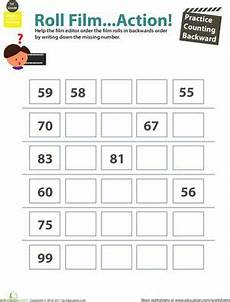worksheets about school 18772 count practice counting backward 2 count squares and kid