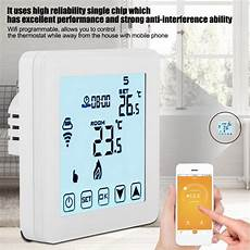 Minco Heat Programmable Smart Thermostat Digital by Greensen Smart Thermostat Smart Wifi Programmable Heating
