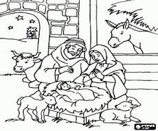 Ausmalbilder Weihnachten Heilige Familie Ausmalbilder Weihnachtskrippe Malvorlagen