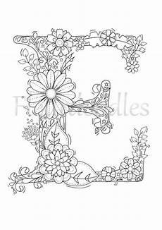 Ausmalbilder Erwachsene Buchstaben Malseite Zum Ausdrucken Buchstabe E Floral